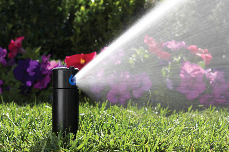 active sprinkler head