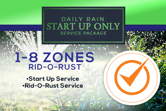 1-8 Zone Start Up Only WITH RID-O-RUST