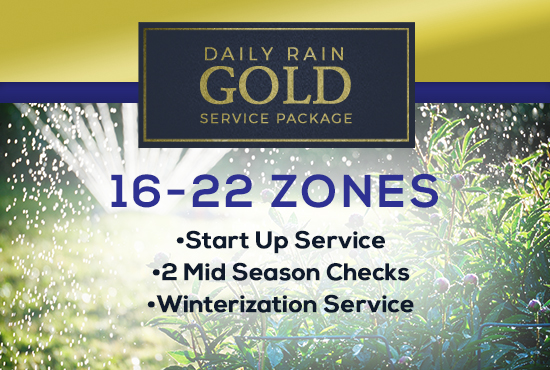 16-22 Zone Gold Service Package