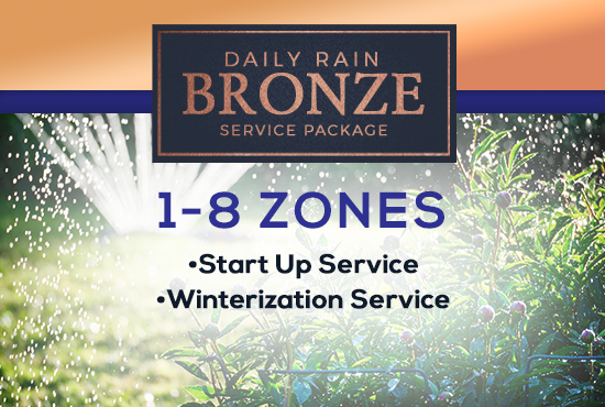 1-8 Zone Bronze Service Package
