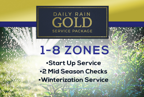 1-8 Zone Gold Service Package