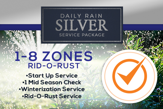 1-8 Zone Silver Service Package WITH RID-O-RUST