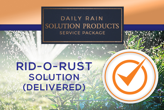 Rid-O-Rust Solution/Delivered