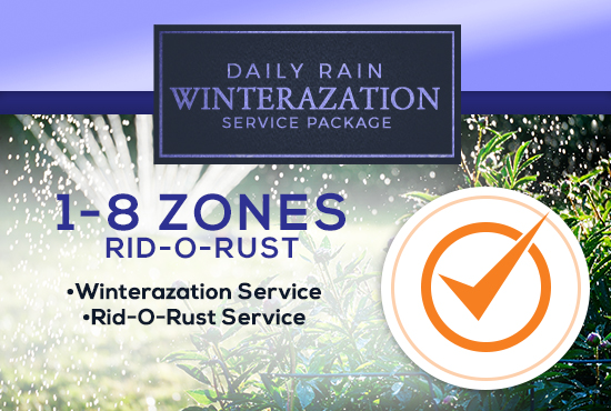 1-8 Zone Winterization Only (with or without RID-O-RUST)