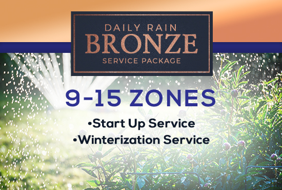 9-15 Zone Bronze Service Package